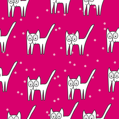 pattern-cat-meaw-with-dots-outlines-jpg