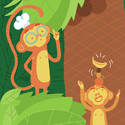 monkey-jungle-palmtree-banana-cooking-jpg