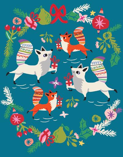 rachaelschafer-holiday-christmas-animals-gifts-kitsch-foxes-jpg