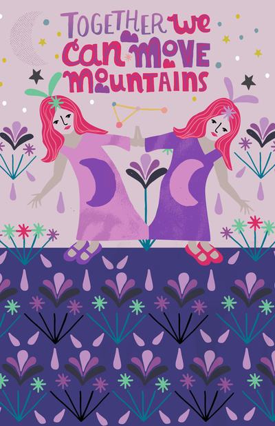 rachaelschafer-lettering-astrological-gemini-people-mountains-twins-jpg