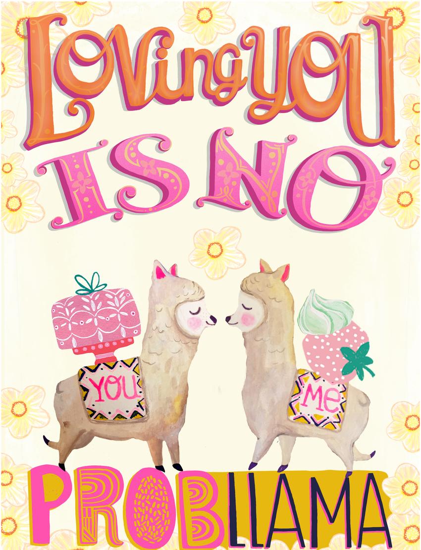 rachaelschafer-lettering-llamas-flowers-humour.jpg