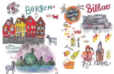 rachaelschafer-map-painted-cities-bilbao-bergen-jpg