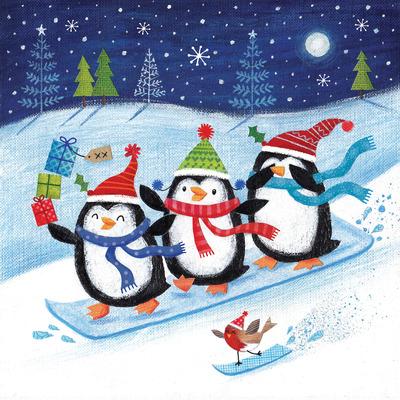joanne-cave-fun-christmas-snowboarding-penguins-jpg