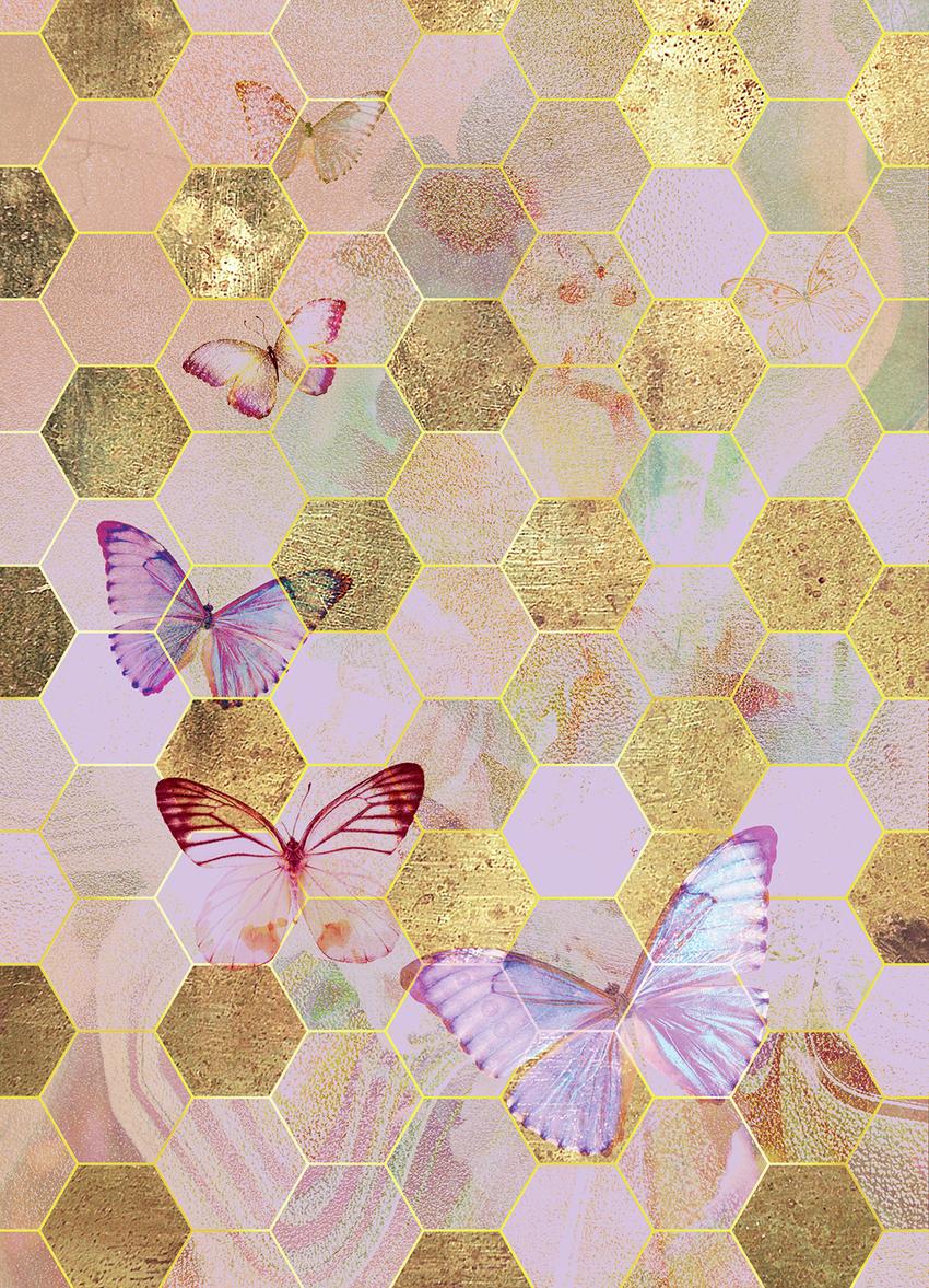 LSK Golden Butterly Hexagons.jpg