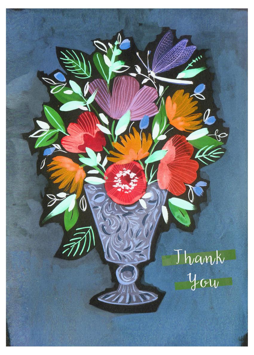 flower poppy glass vase thank you.jpg