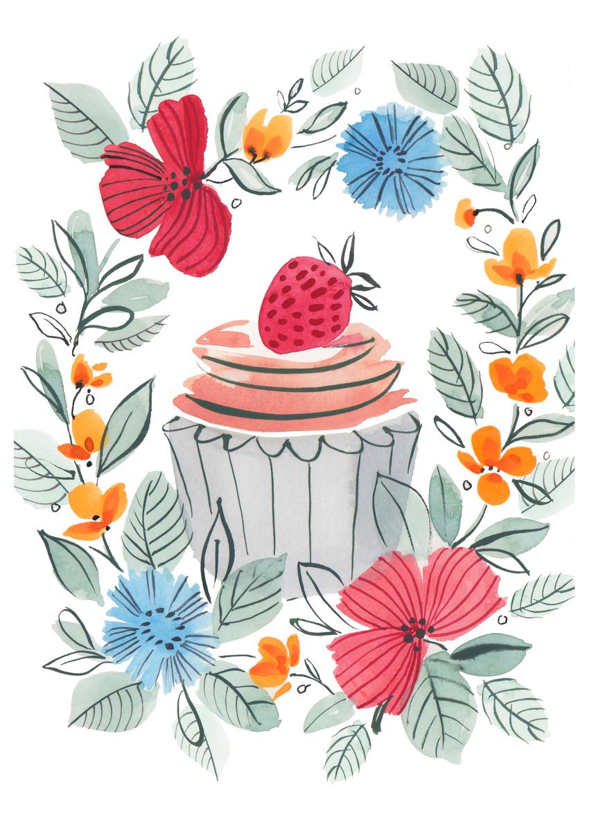 poppy wreath cake strawberry.jpg
