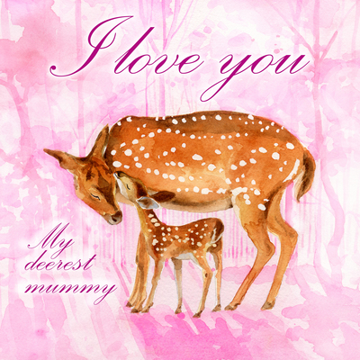estelle-corke-mothers-day-deers-mother-child-pink-jpg