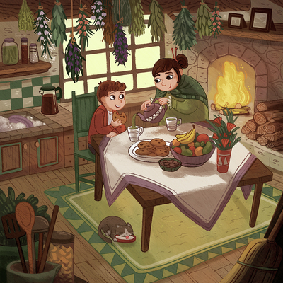 grandmas-house-cottage-cozy-food-fireplace-boy-jpg