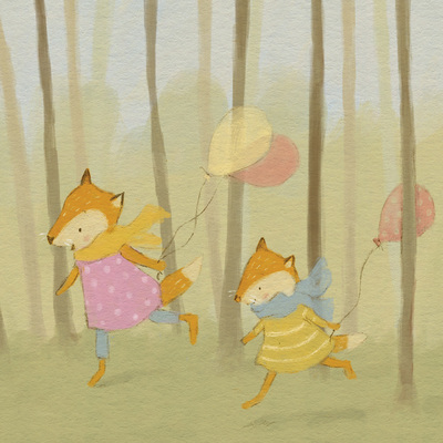 claire-keay-foxes-in-wood-jpg