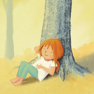 claire-keay-girl-sunshine-tree-jpg