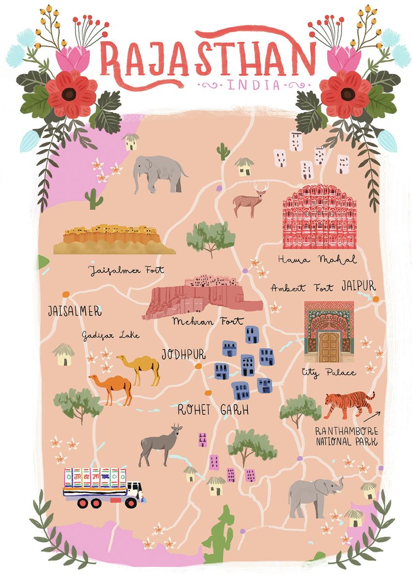 Map Rajasthan, India - Gina Maldonado.jpg
