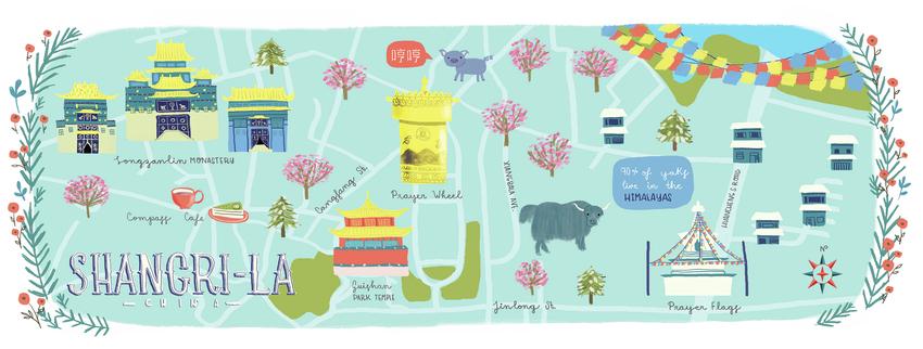 Map Shangri - La, China - Gina Maldonado.jpg