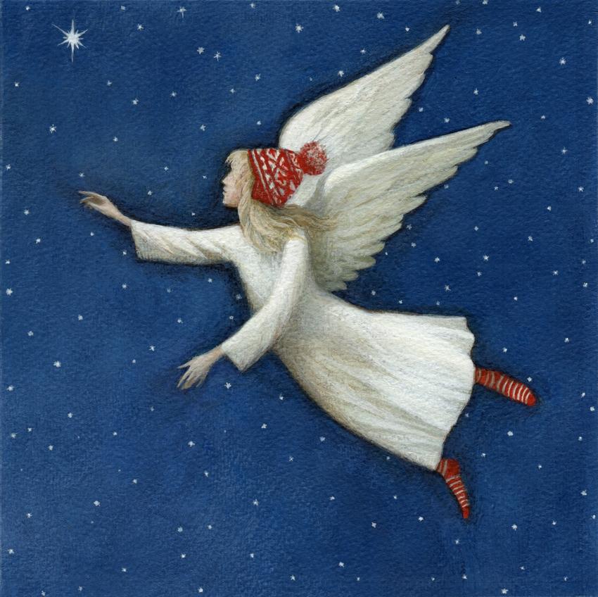 Daniels R. - Angel with a Cap 2018 christmas_star_angel_girl_wings.jpg