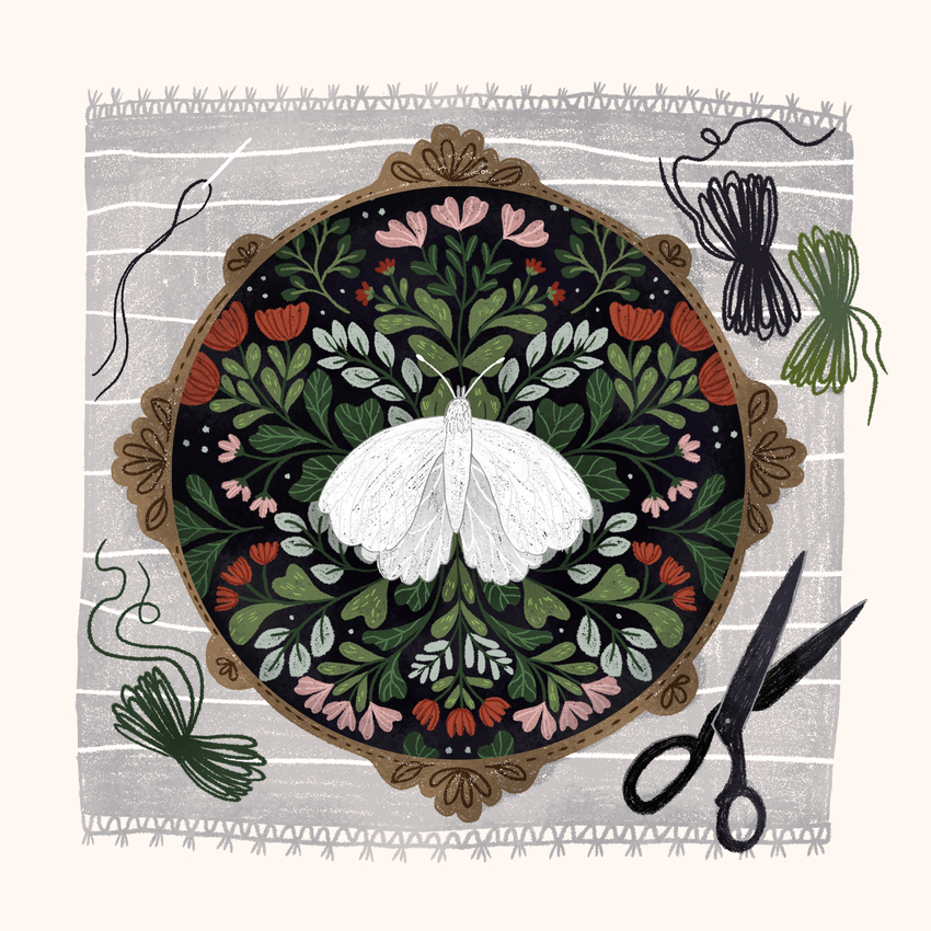 FOLKTALEWEEK - INSECT_embroidary_bug_insect_hobby_scissors_floral_butterfly.jpg