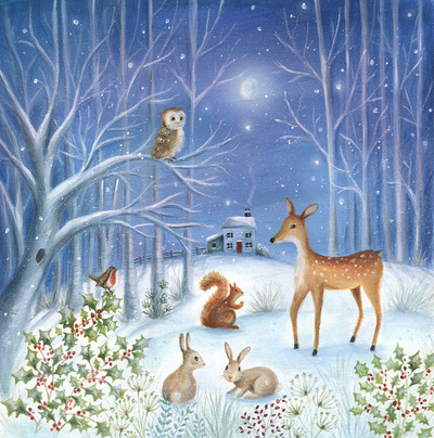 christmas-owl-robin-deer-rabbit-squirrel-moon-house-tree-jpg