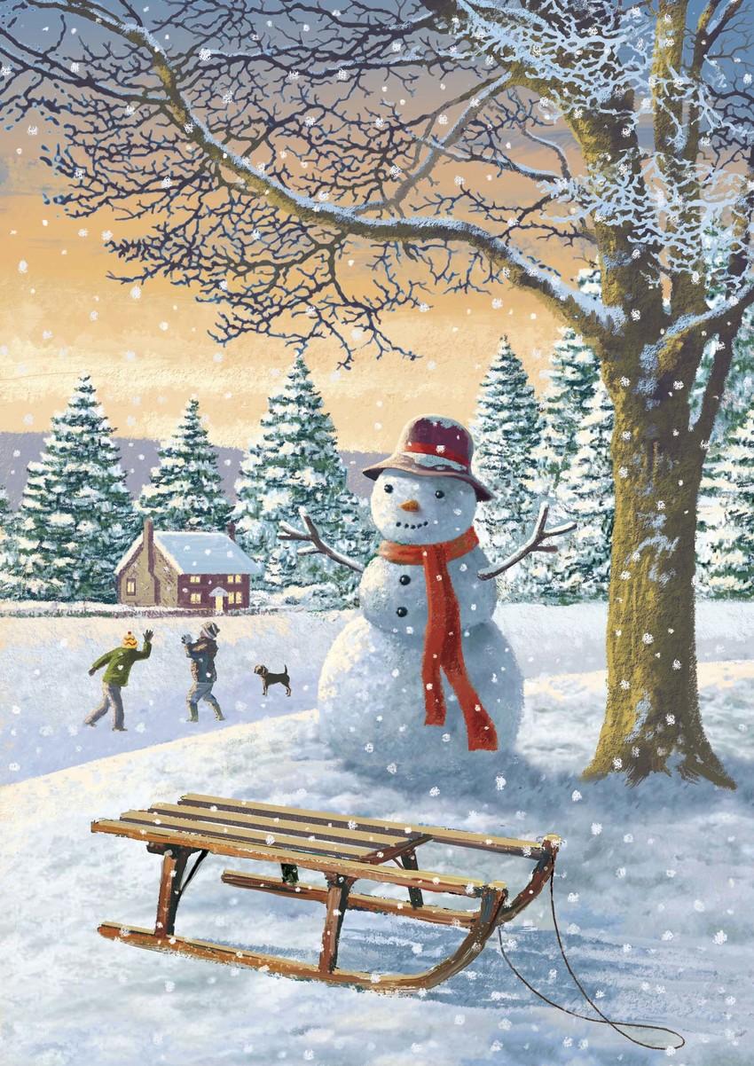 Snowman and sleigh copy.jpg