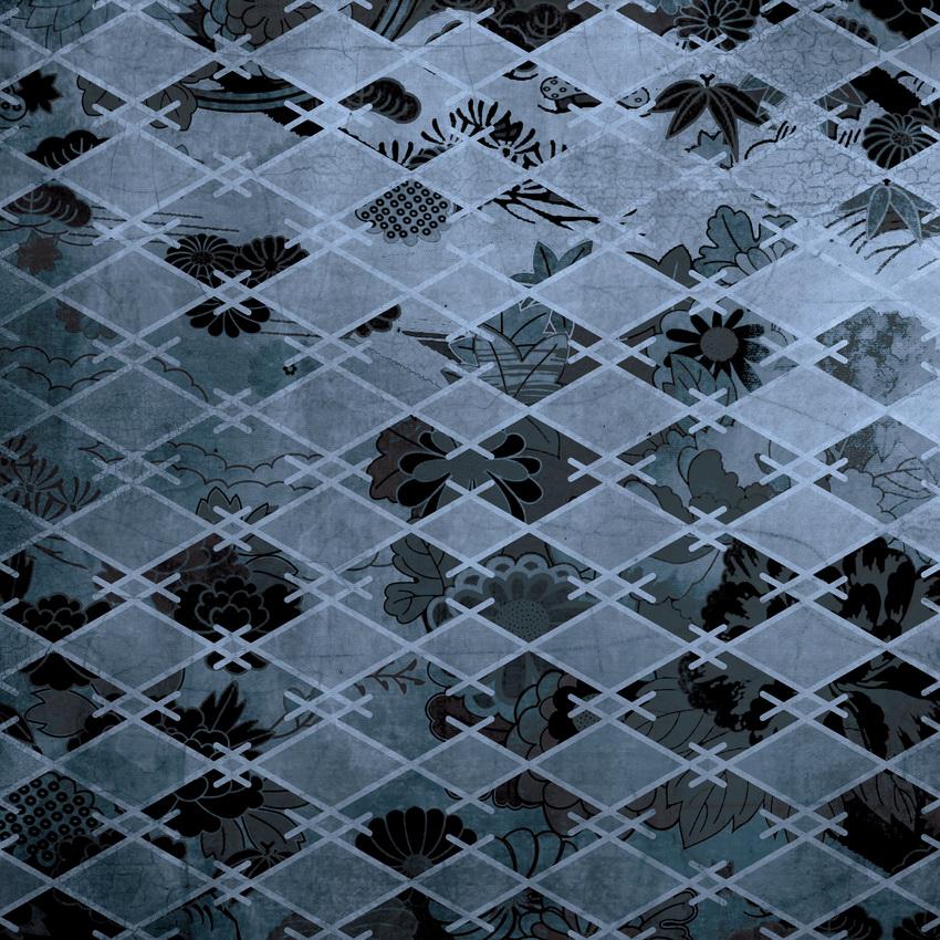 LSK Satori Living Pattern River Wash Denim Blue_Geometric.jpg