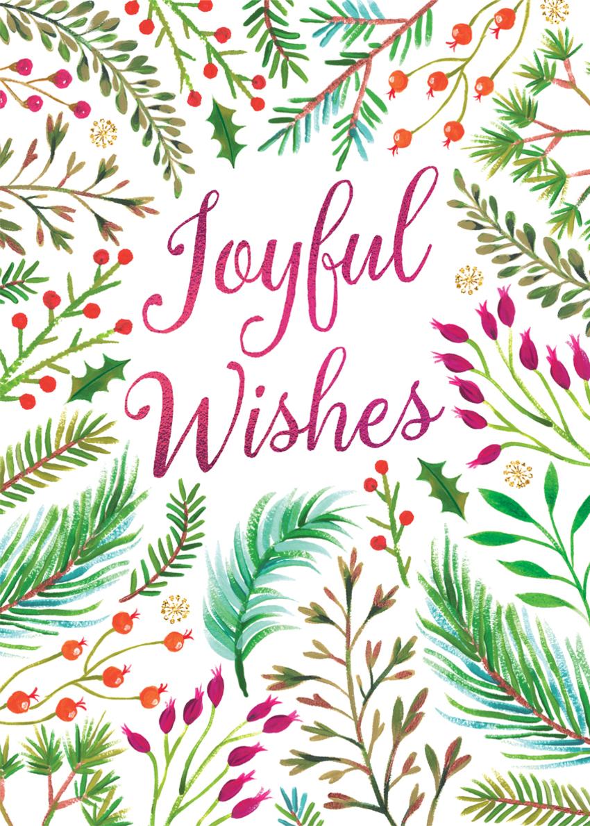 christmas joyful wishes with berries and foliage.jpg