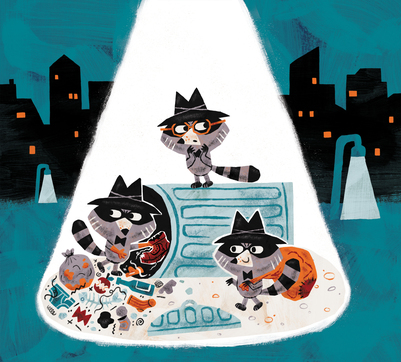 raccoon-theif-burglers-robbers-rubbish-jpg