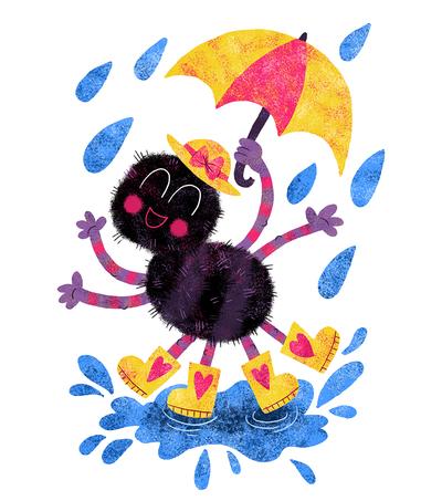 spider-rain-umbrella-puddle-splash-jpg