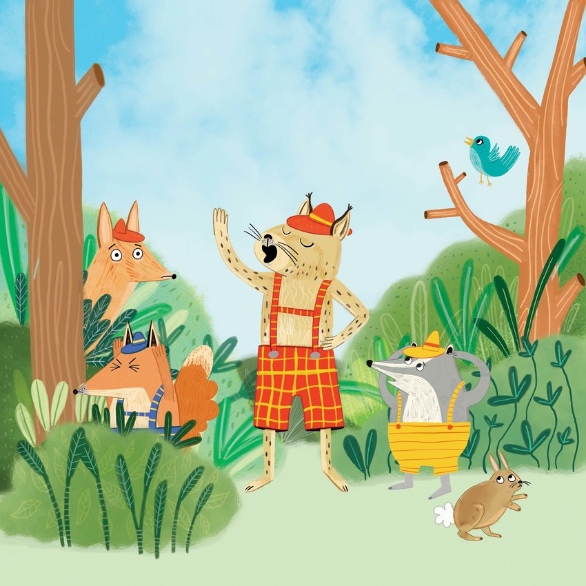 Sarah Hoyle_Forest Animals singing forest_Not Available.jpg