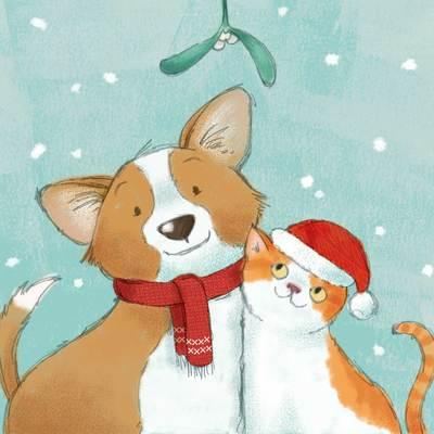 dog-and-cat-mistltoe-jpg