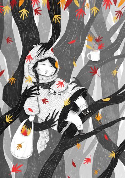 autumn-sleep-girl-leaves-jpg