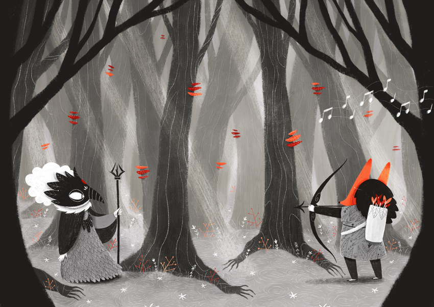 Masks_battle_fox_crow.jpg