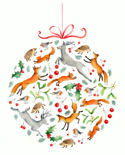 e-corke-christmas-bauble-woodland-animals-holly-jpg