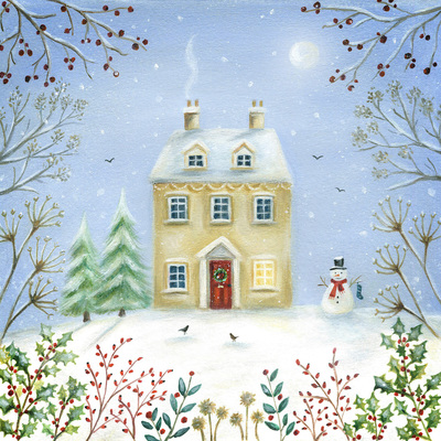 christmas-house-moon-snowman-tree-holly-berries-jpg