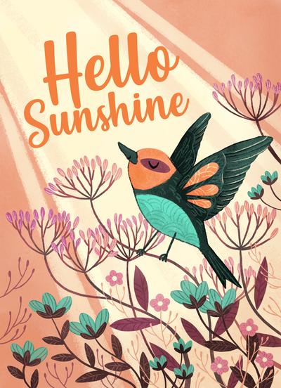 sundaystroll-hellosunshine-birds-sun-flowers-pink-jpg