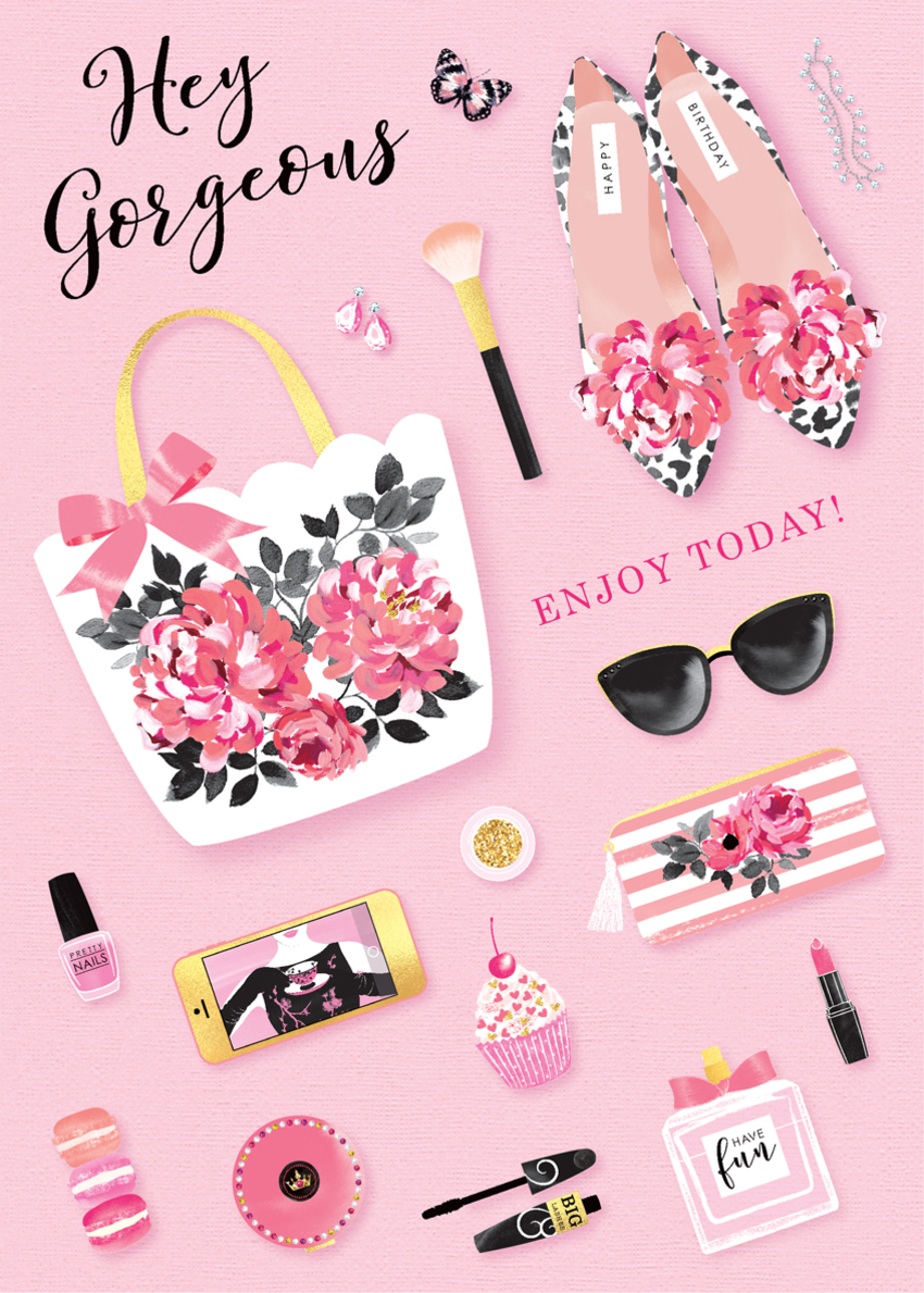 female birthday mothers day daughter sister mum mom auntie niece friend bag shoes makeup sunglasses flat lay.jpg