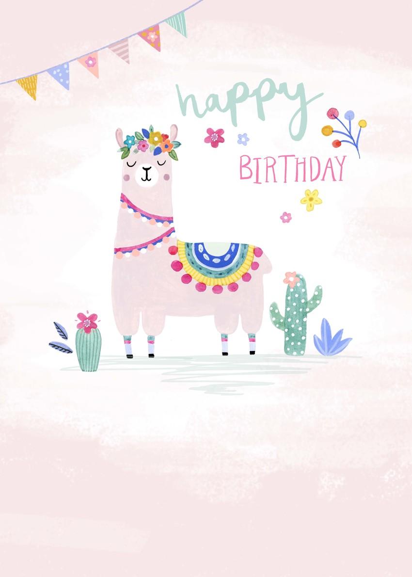 Felicity French Llama happy birthday female floral.jpg