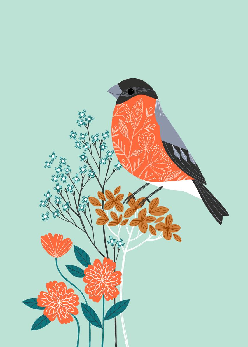 BethanJanine_Bullfinch_Flower_Winter.jpg