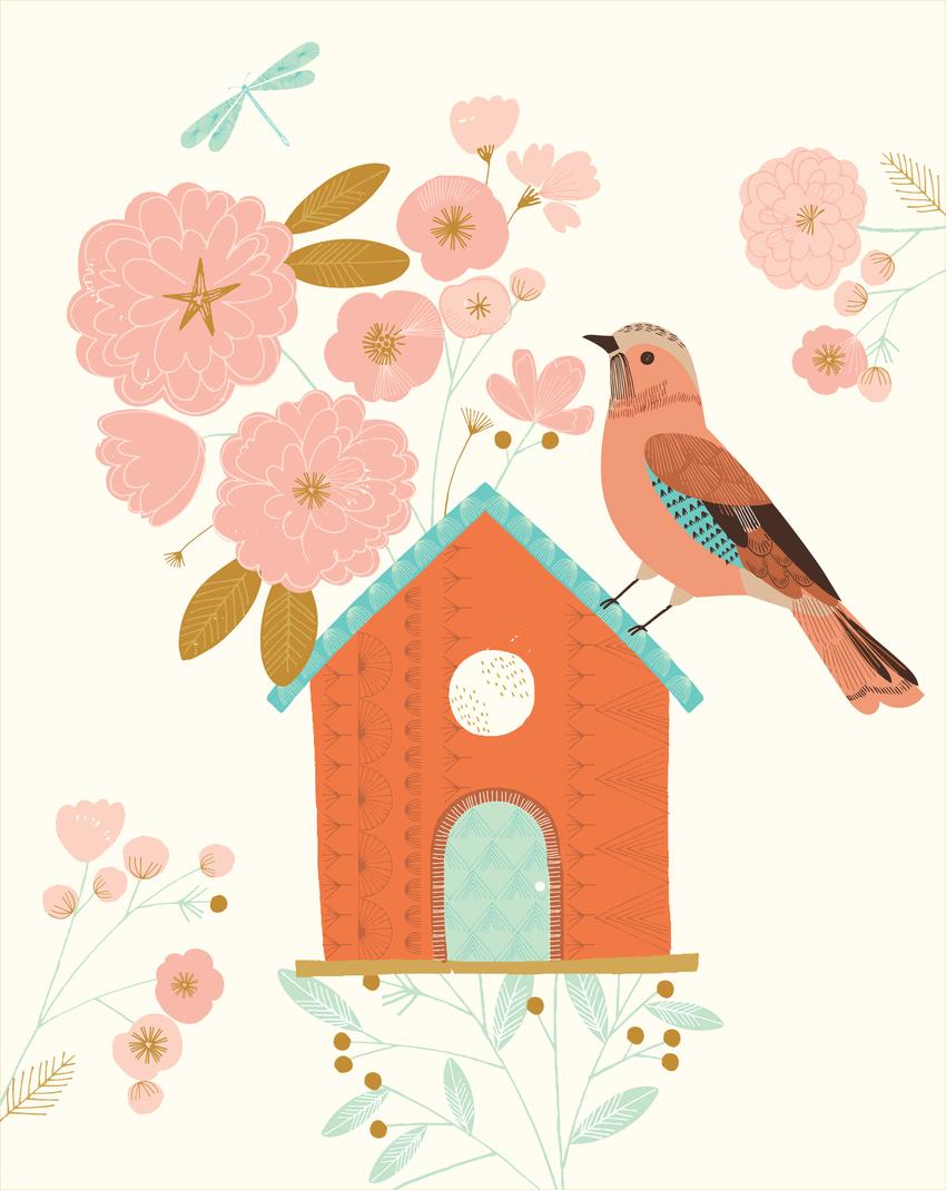 BethanJanine_Jay_Bird_Birdhouse_Floral.jpg