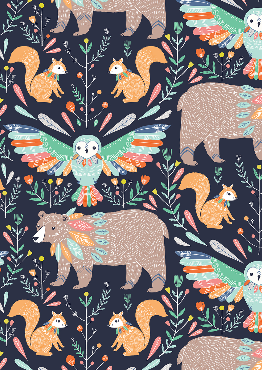 BethanJanine_Boho_Bear_Owl_Squirrel_Pattern.jpg