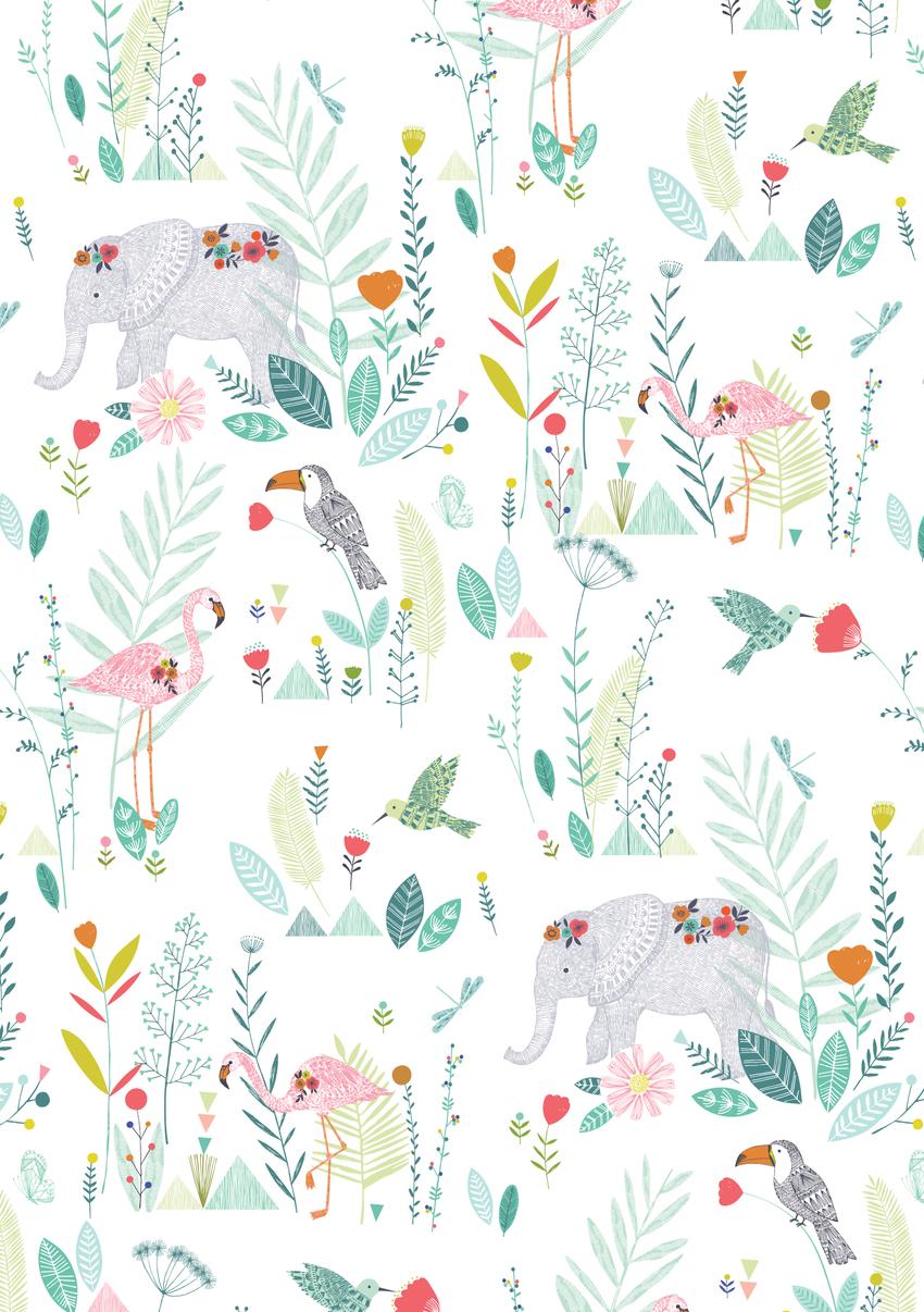 BethanJanine_Jungle_Flamingo_Elephant.jpg