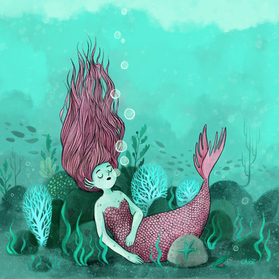 2-mermaid-2018-pink-kid-sleeping-sea-bubbles-fish-jpg
