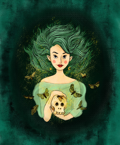 2017-green-morrigan-witch-skull-butterflys-darkmagic-jpg