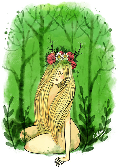 2017-green-nymphee-forest-nature-girl-flowers-blond-jpg
