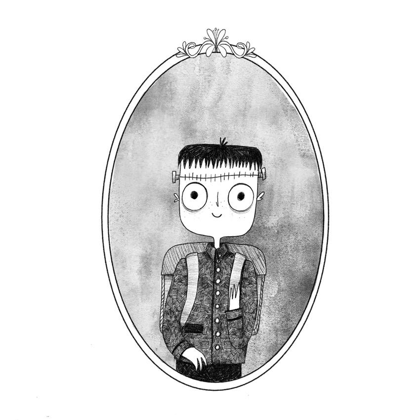 3-Inktober2018-kid-boy-franckenstein-black&white.jpg