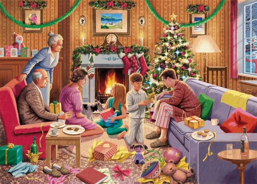 Christmas Morning 1950s.jpeg