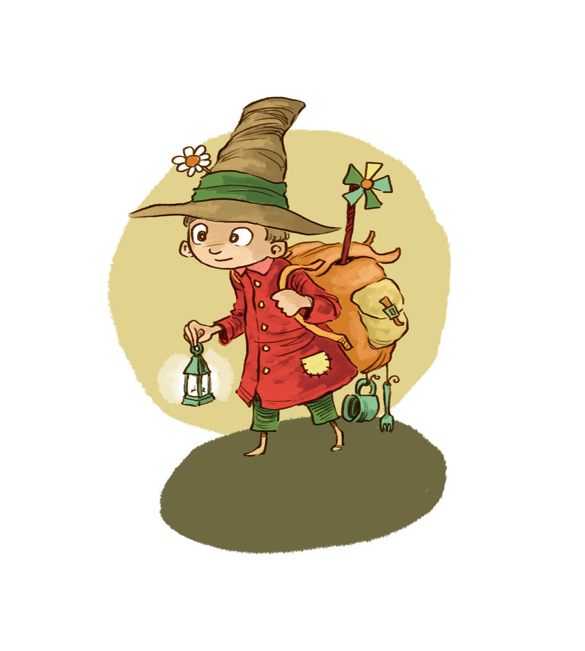 Jon Davis - Boy Fairy Tale Traveller Backpack Hat Lantern-01-available copy.jpg