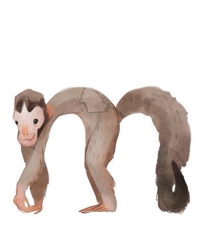 animal-alphabet-letter-m-monkey-ape-baby-jpg