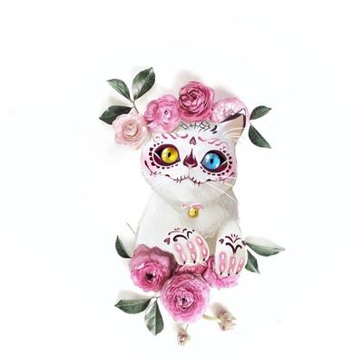 kitty-cat-sugarskull-roses-skull-halloween-mexico-jpg