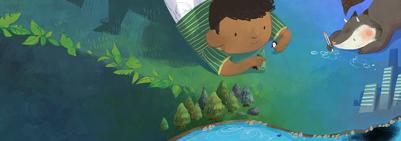 04-green-afro-kid-fox-fairy-environment-trees-jpg