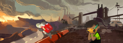 04-smog-afro-kid-fox-fairy-factories-pollution-jpg