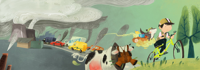 04-smog-pollution-bike-asian-kid-cow-gas-mask-fairy-cloud-jpg