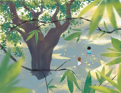 mango-tree-birds-eye-view-grandpas-mango-tree-kids-playing-jpg