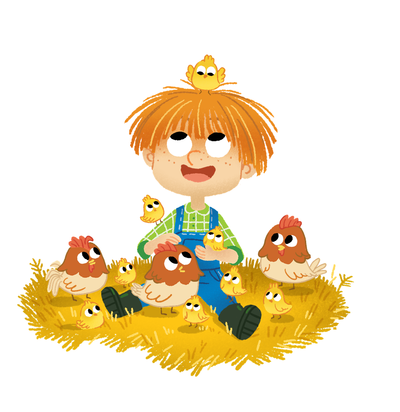 boy-and-chicken-png